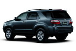 Car rental Toyota fortuner